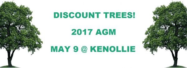 2017 AGM Tree Sale!