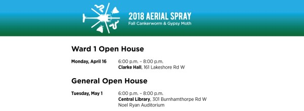 Aerial Spray Open House